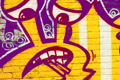 Street art graffiti Royalty Free Stock Photos