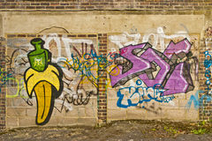 Street art graffiti Stock Image