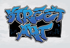 Street Art - graffiti Royalty Free Stock Photos