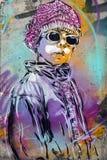 Street art graffiti in Oslo Royalty Free Stock Photo