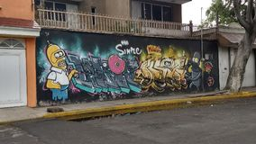 Graffiti on a wall Royalty Free Stock Photo