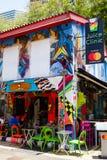 Street Art on Haji Lane in Singapore Royalty Free Stock Images