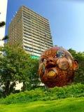 Street art installation in Mumbai city Stock Image
