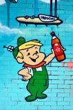 Street art The Jetsons Stock Photos