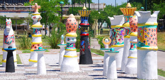 Street art in La Boca Royalty Free Stock Image