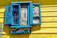 Street art in La Boca neighborhoods Royalty Free Stock Image