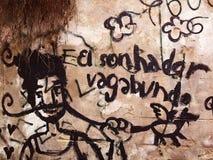 Street art in Lisbon stock photo