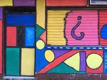 Street Art in Livingston Izabal Guatemala stock fotografie