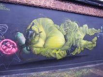 Street art. London street art , graffiti Royalty Free Stock Image