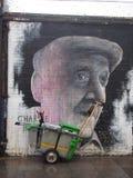 Street art. London street art , graffiti Stock Photos