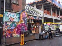Street art. London street art , graffiti Stock Photography