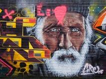 Street art. London street art , graffiti Royalty Free Stock Photography