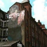 Street Art. Manchester northern quarter Royalty Free Stock Photo