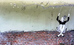 Street art, Milano Royalty Free Stock Images
