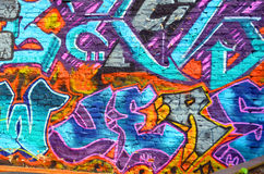 Street art Montrea royalty free stock image