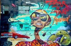 Free Street Art Montreal Royalty Free Stock Photo - 44651115
