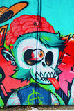 Street art Montreal alien Stock Images