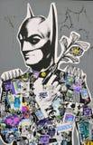Street art Montreal Batman Stock Image