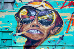 Street art Montreal Stock Photos