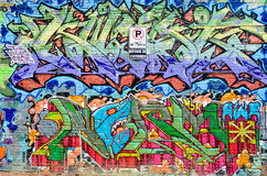 Street art Montreal Royalty Free Stock Images