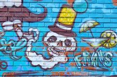 Street art Montreal Stock Photo