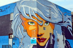 Street art Montreal Stock Photos