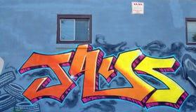 Street art Montreal Stock Image