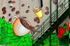 Street art Montreal Royalty Free Stock Image