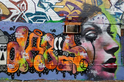 Street art Montreal Royalty Free Stock Photography