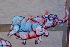 Street art Montreal Royalty Free Stock Photos