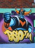 Street art Montreal Grendize Stock Image
