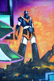 Street art Montreal Grendize Royalty Free Stock Images