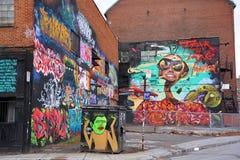 Street art Montreal junky Stock Photo