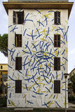 Street art murals in rome for 999contemporary gallery Stock Photography