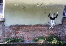 Street art on Navigli Royalty Free Stock Image