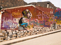 Street Art in Orihuela, Spain Stock Image