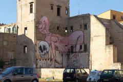 Street Art in Palermo, Italy Stock Images