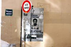 Street art - Paris Stock Photo