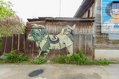 "Free Street Art Project ""70110 : Ban Pong Urban Art Terminal 1/201 Royalty Free Stock Images - 95058499"