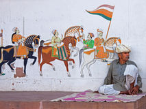Street Art in Rajasthan Royalty Free Stock Image