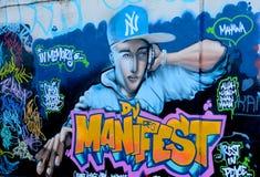 Street art Rapper Royalty Free Stock Photos