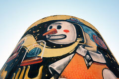 Street Art in Rome Stock Photos