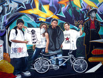 Street art in San Francisco Stock Photography