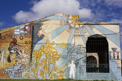 Street Art in Santa Clara, Cuba Stock Photos