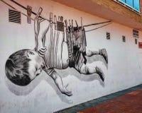 Street Art. Spain Stock Photo