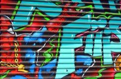 Street art Spiderman Stock Images