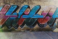 Street art stock images