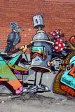 Street art spray can Royalty Free Stock Photos