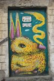 Street art. Graffiti - from the city of Veliko Tarnovo, Bulgaria Royalty Free Stock Photography