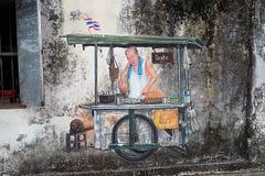 Street Art Streetart in Malaysia. Street Art in the Streets of Malaysia Stock Photography